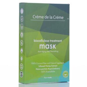 Crème De La Crème Anti-Aging and Nourishing Bio-Cellulose Facial Mask