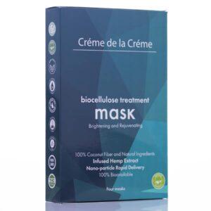 Crème De La Crème Brightening and Rejuvenating Bio-Cellulose Facial Mask