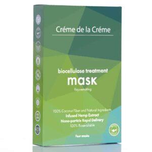 Crème De La Crème Rejuvenating Bio-Cellulose Facial Mask