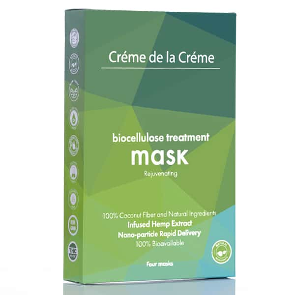 Crème De La Crème Rejuvenating Bio-Cellulose Facial Mask