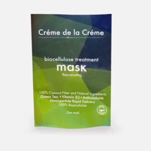Crème De La Crème Rejuvenating Bio-Cellulose Facial Mask Pouch