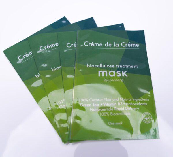 Crème De La Crème Rejuvenating Bio-Cellulose Facial Mask Pouch